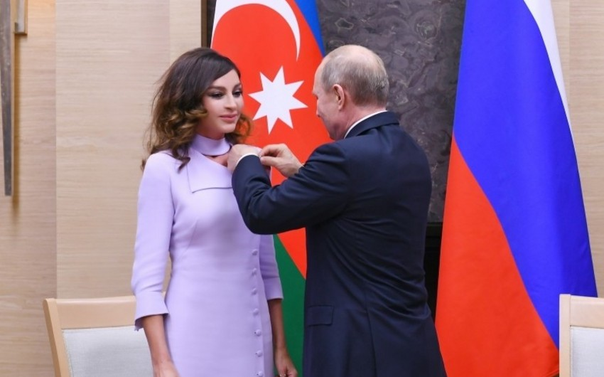 Путин наградил первого вице-президента Азербайджана Орденом Дружбы