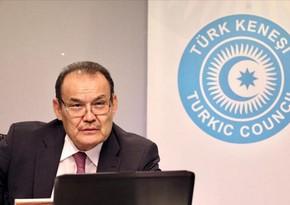 Türk Şurasının baş katibi Azərbaycanı təbrik edib