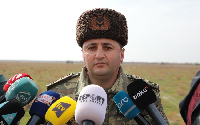 """Polkovnik: """"Azərbaycan Ordusu qarşıya qoyulan tapşırıqları müvəffəqiyyətlə yerinə yetirib"""""""