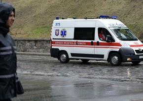 Ukraynada xəstəxanada partlayış olub, ölən və yaralananlar var