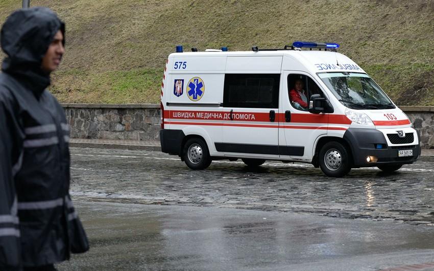 Ukraynada xəstəxanada partlayış olub  -