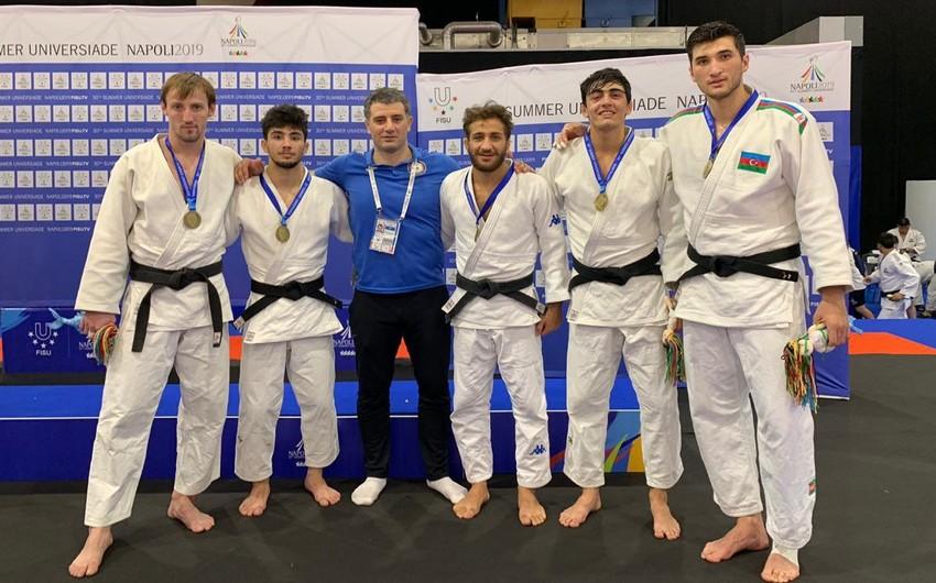 Azərbaycan cüdoçuları İtaliyada bürünc medal qazanıblar