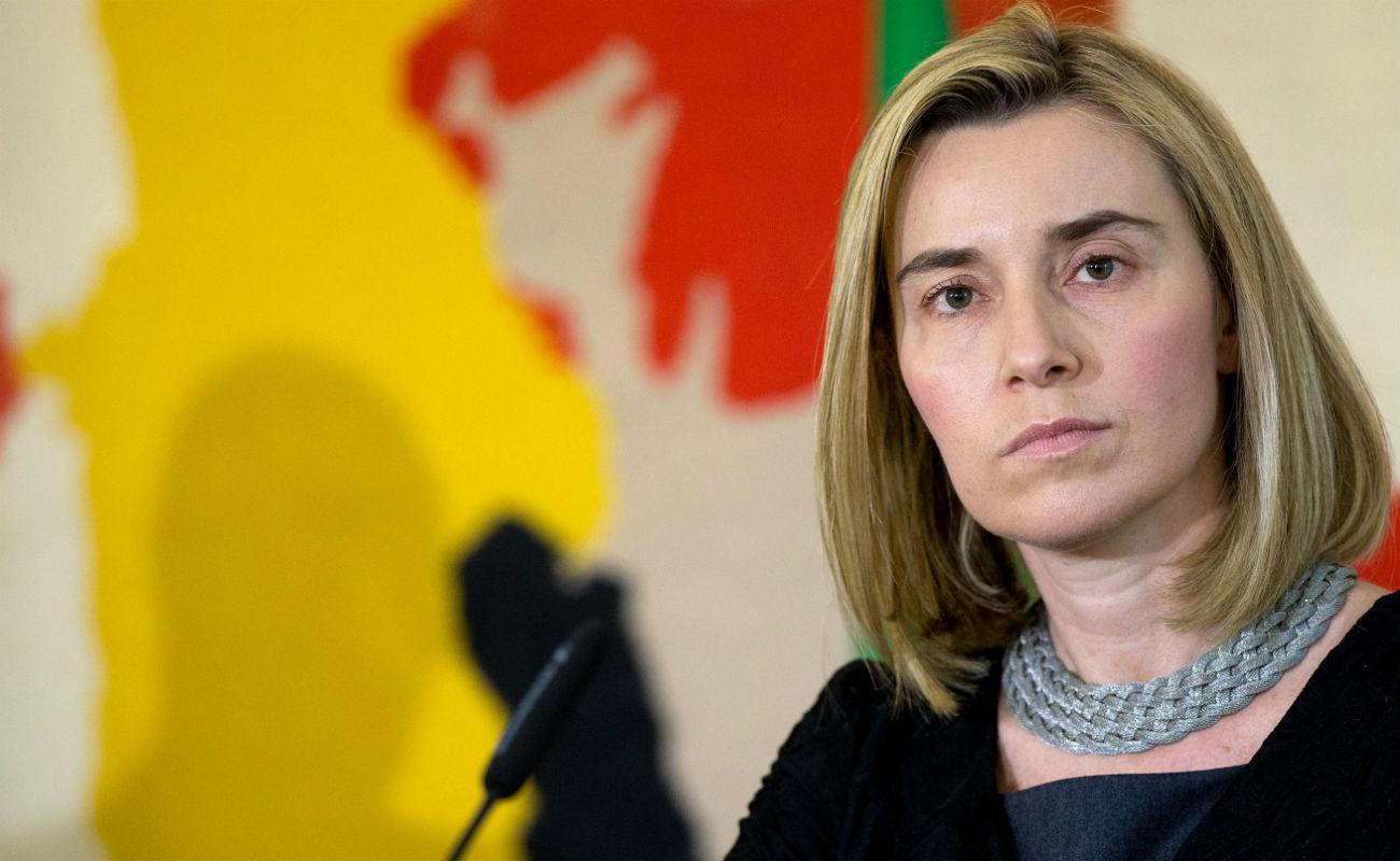 Находившаяся с визитом в Баку верховный представитель ЕС встретилась с правозащитниками