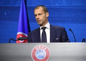Çeferin: Peres onun dediklərinə tabe olan UEFA prezidenti istəyir