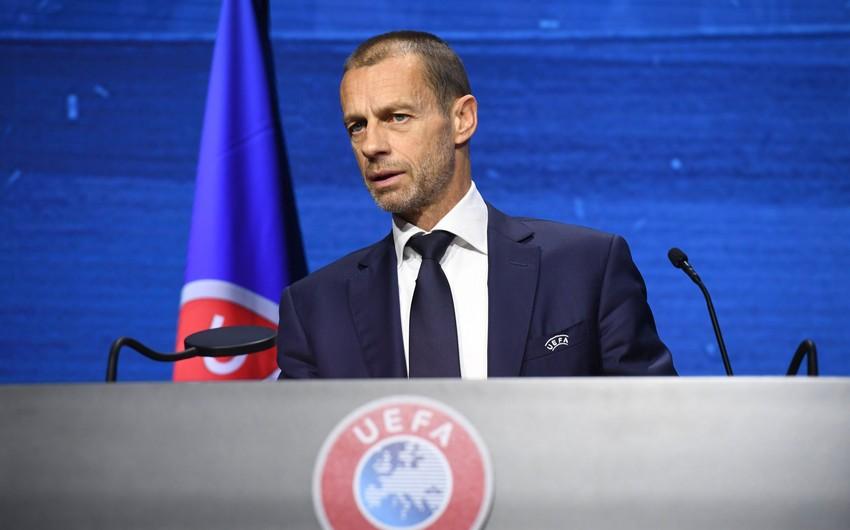UEFA prezidenti: Səfər qolu qaydasının ləğvi düzgün qərardır