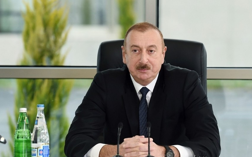 Prezident İlham Əliyev: Korrupsiya və rüşvətxorluq bizə qalan mirasdır