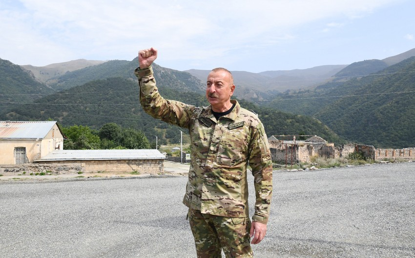 В Азербайджане снимается документальный фильм о победе в Карабахской войне