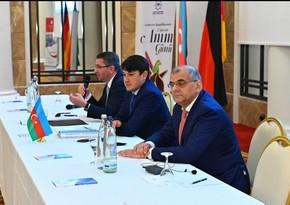 Представители Госкомитета по работе с диаспорой встретились с азербайджанцами Германии