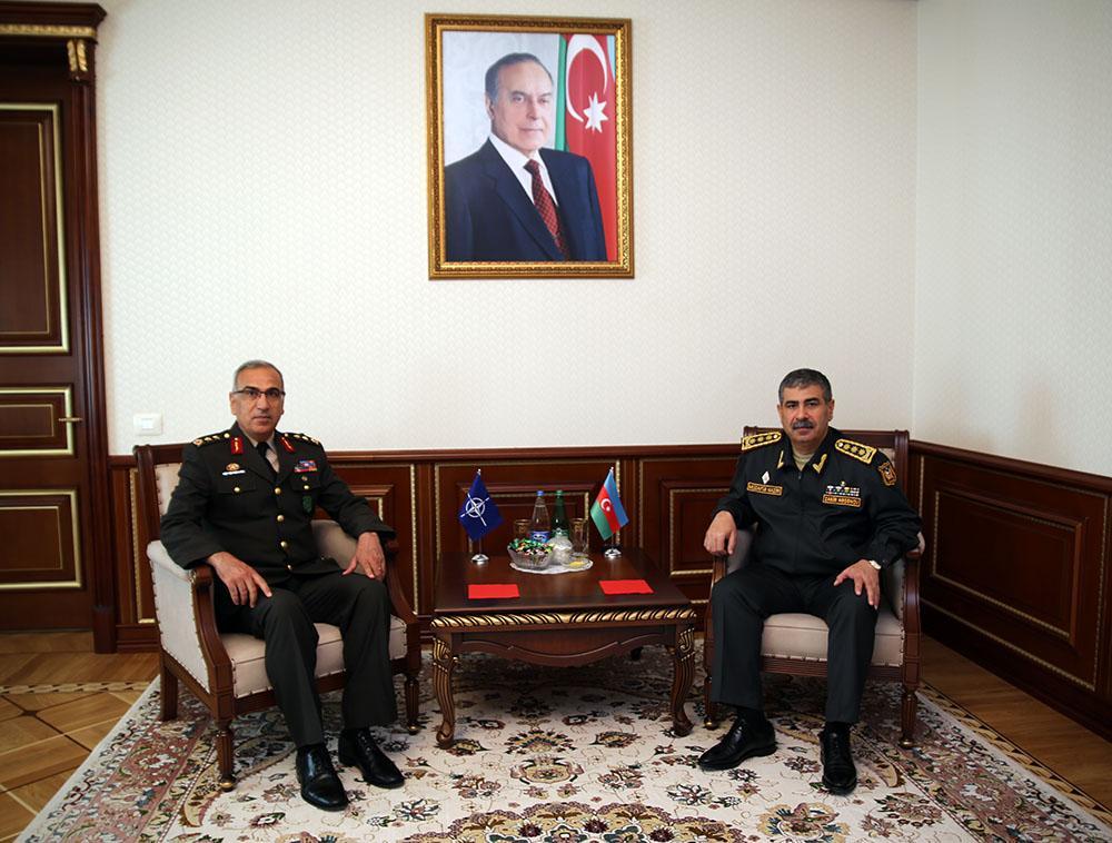 Azerbaijan and NATO discuss military cooperation