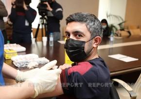 В Азербайджане обнародовано число вакцинированных от COVID-19