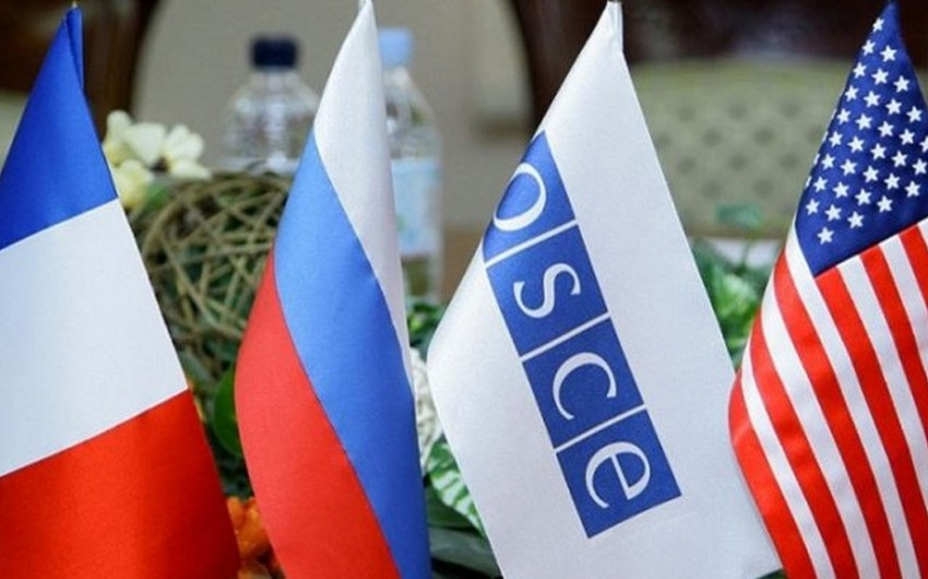 Minsk qrupunun həmsədrləri bölgədə baş verən son siyasi hadisələrlə bağlı bəyanat yayıb