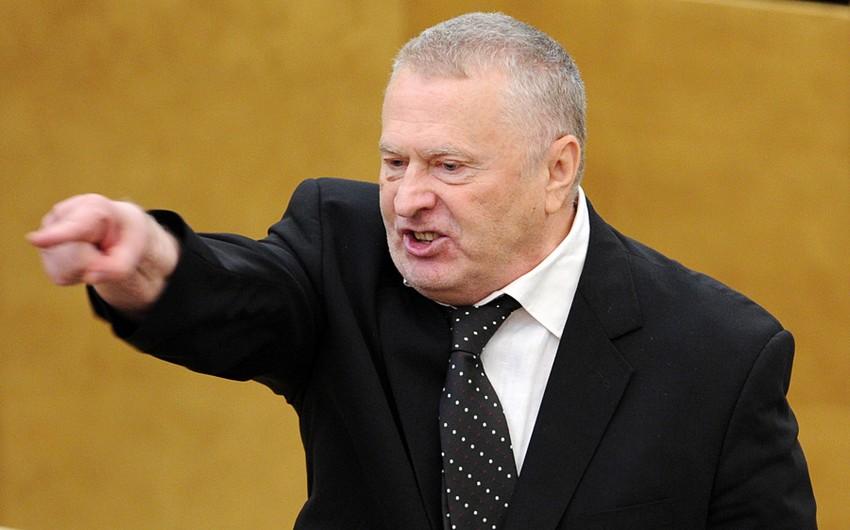 Vladimir Jirinovski yenidən Rusiya Liberal Demokrat Partiyasının sədri seçilib