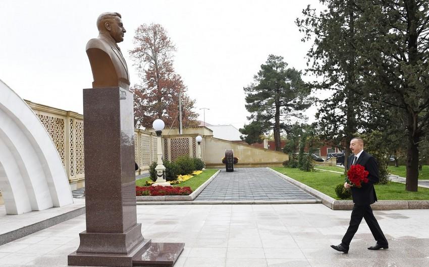 В Гяндже состоялось открытие парка культуры и отдыха имени Азиза Алиева