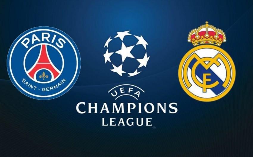 PSJ - Real Madrid matçında bir sıra aparıcı futbolçular iştirak etməyəcək