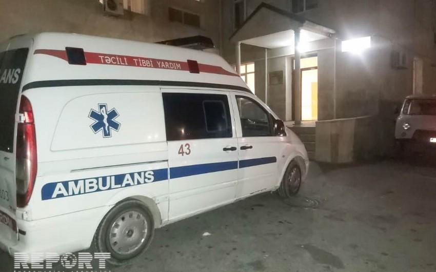 Qusarda xəstə təcili tibbi yardım avtomobilində ölüb - YENİLƏNİB