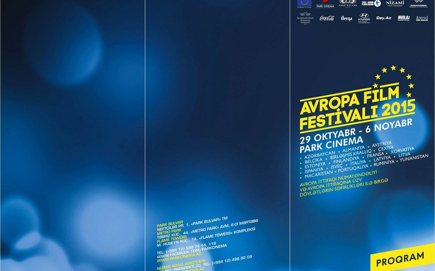 Avropa Kinosu Festivalının proqramı açıqlanıb