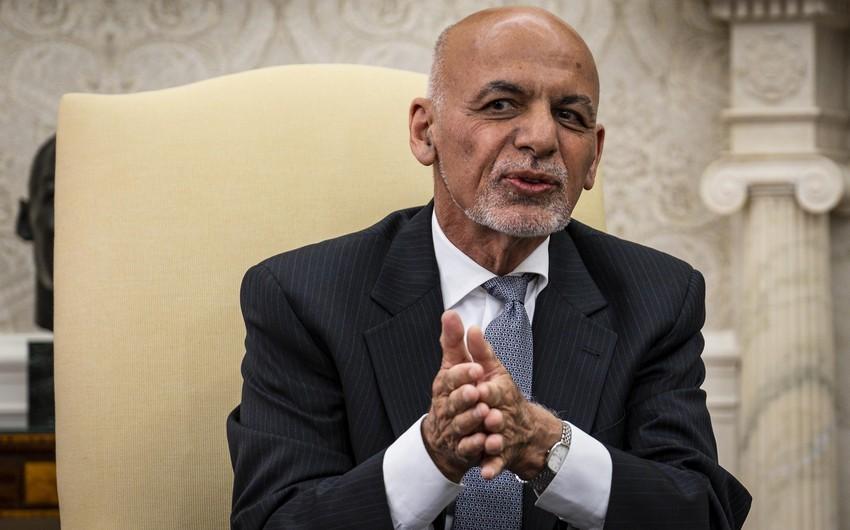 Əfqanıstan Prezidenti Özbəkistana getdi