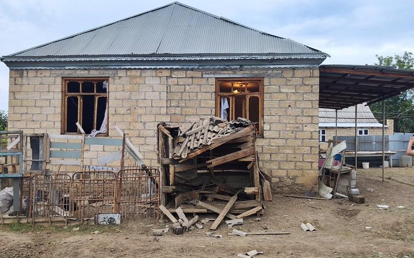 Ilham Aliyev allocates AZN 1 million to reverse damage to Tovuz after Armenian incitements