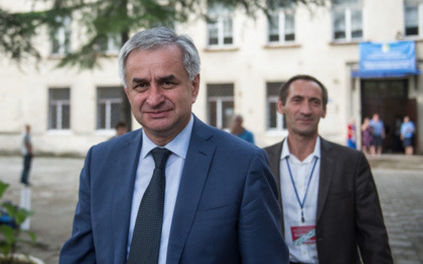 Presidential elections were held in Abkhazia