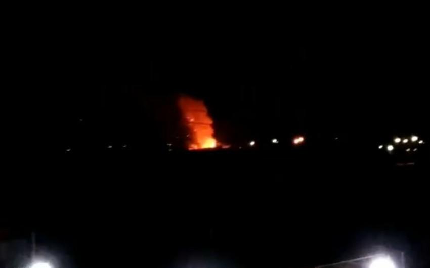 На военной базе в Иране прогремел взрыв