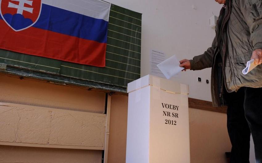 Slovakiyada parlament seçkiləri keçirilir