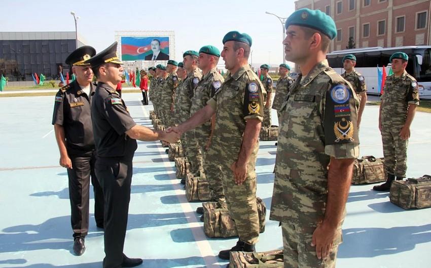 Группа миротворцев из Азербайджана отправлена в Афганистан