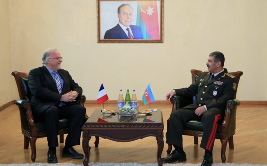 Zakir Hasanov met with French Ambassador to Azerbaijan