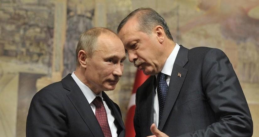 Kreml Putinlə Ərdoğanın müzakirə mövzularını açıqlayıb