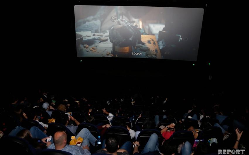 """CinemaPlus Ganjlik Mallda """"Deadpool filminin premyera öncəsi nümayişi olub - FOTO"""