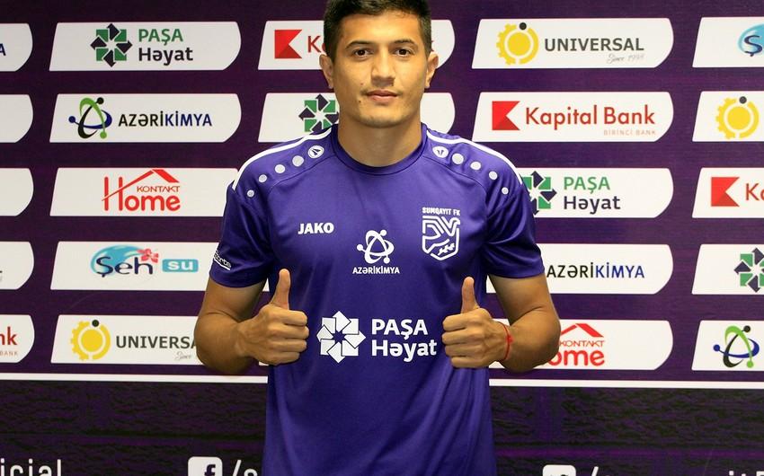 Sumqayıt Zenitin sabiq futbolçusu ilə müqavilə imzalayıb