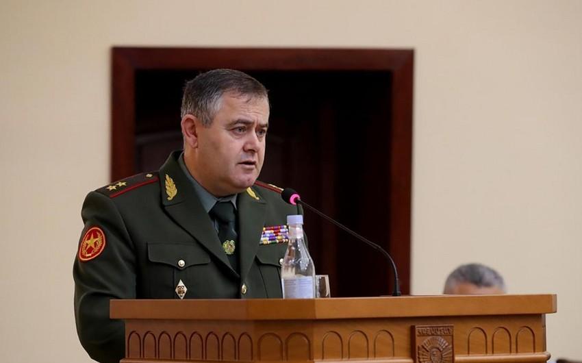 Ermənistan hərbi sənaye komitəsinin sədri   -