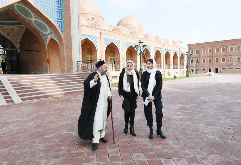 First Vice-President Mehriban Aliyeva visited Imamzade religious complex in Ganja