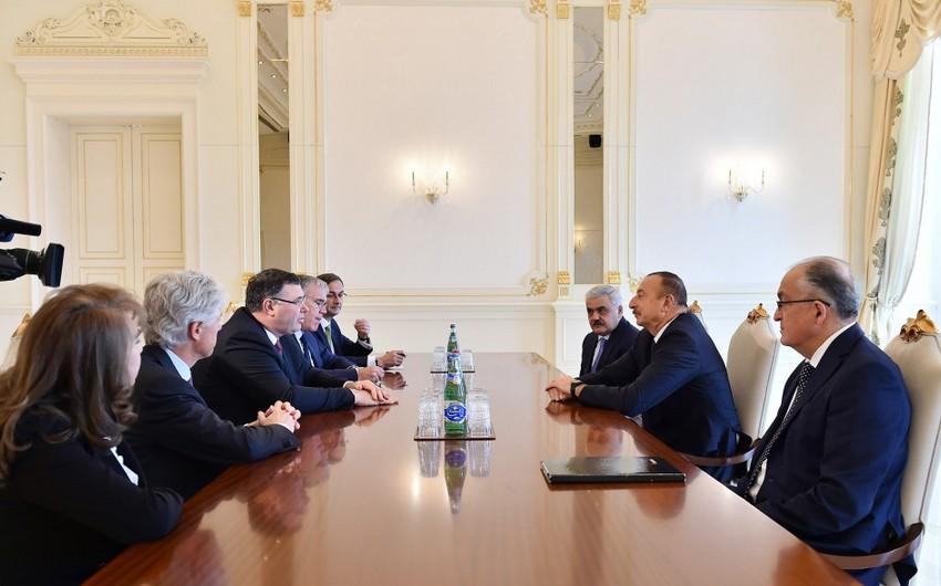 Президент Ильхам Алиев: Проект по разработке газового месторождения Абшерон имеет хорошие перспективы - ОБНОВЛЕНО
