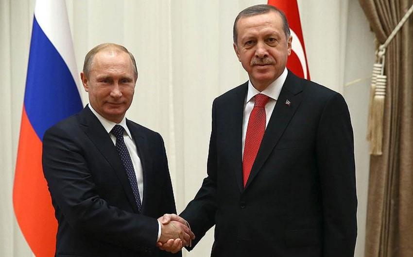 Rəsmi Ankara Ərdoğanın Putinə ünvanladığı məktubun məzmununa aydınlıq gətirib