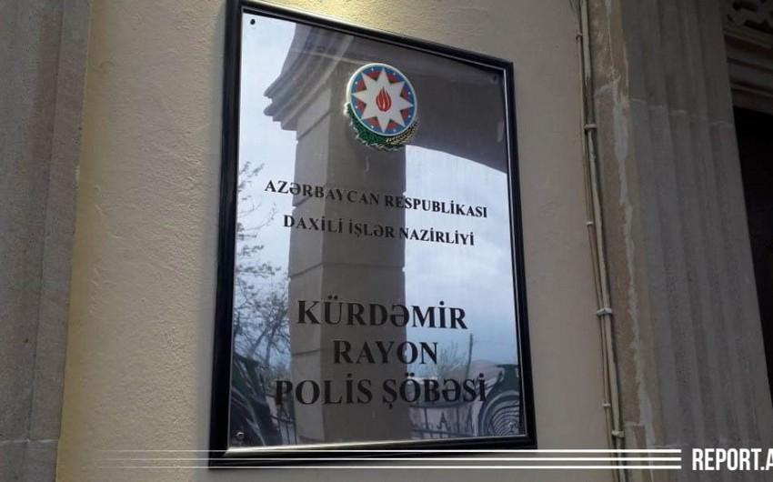 Kürdəmirdə gənc qadın güllə xəsarəti alıb