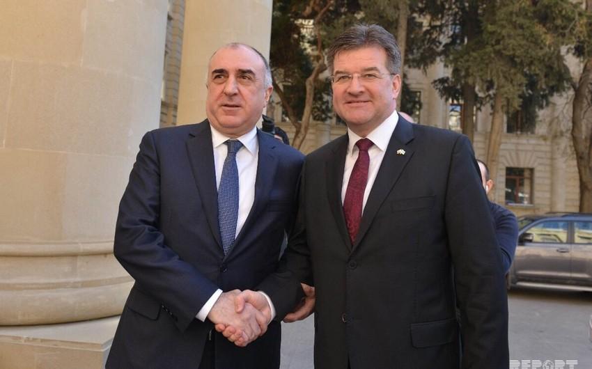 Глава МИД Азербайджана и действующий председатель ОБСЕ обсудили нагорно-карабахское урегулирование - ФОТО - ОБНОВЛЕНО