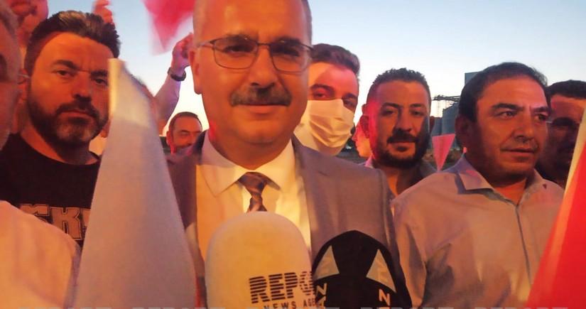 """AK Partinin rəsmisi: """"Azərbaycanlı qardaşlarımızın bizimlə bir yerdə olduğunu gördük"""""""