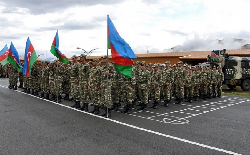 July conscription for military service ended in Azerbaijan