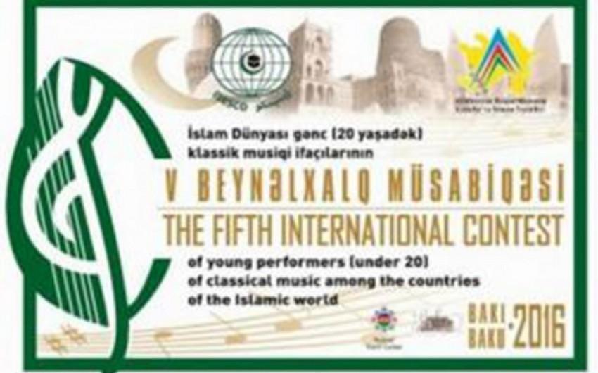 Bakıda İslam dünyası gənc klassik musiqi ifaçılarının müsabiqəsi keçiriləcək