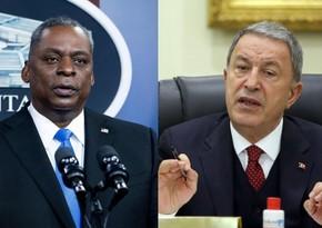 Министры обороны США и Турции провели телефонный разговор