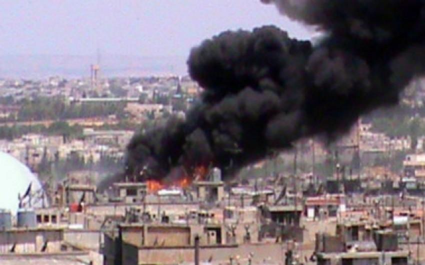 Suriyada terrorçuların olduğu məscid partlayıb, 10 nəfər ölüb