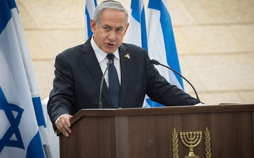 İsrailin Baş naziri: İranın nüvə silahına yiyələnməsinə imkan verməyəcəyik