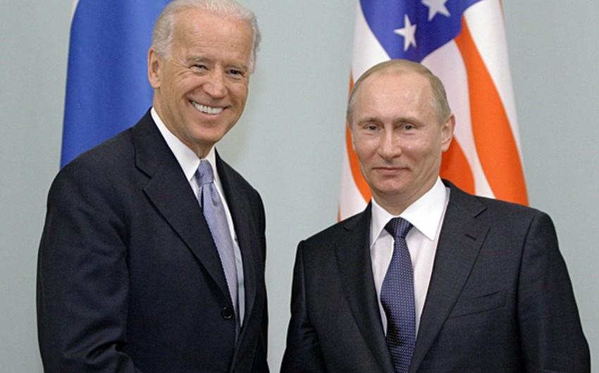 Rusiya Putinlə Baydenin danışıqlarına hazırlıq görür