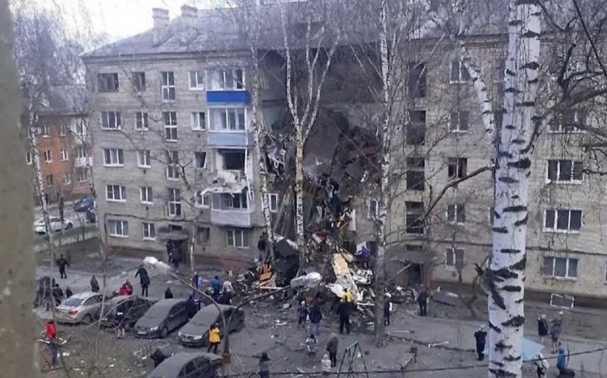 Rusiyada yaşayış binasında partlayış baş verdi, ölənlər var