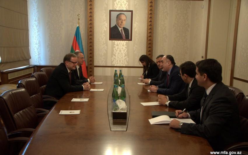 Azərbaycan xarici işlər naziri Avstriya Parlamentinin birinci vitse-spikerini qəbul edib
