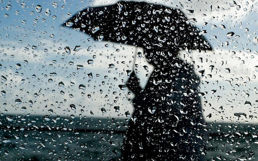 Bayram günü Azərbaycanda hava şəraiti yağmurlu olacaq