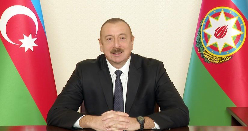 Президент Азербайджана обратился к народу