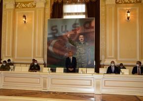 В ИВ города Баку состоялась встреча с ветеранами Отечественной войны