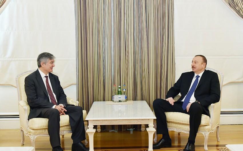 President Ilham Aliyev received ECO Secretary General