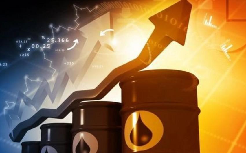 Brent markalı neftin qiyməti 84 dolları ötüb